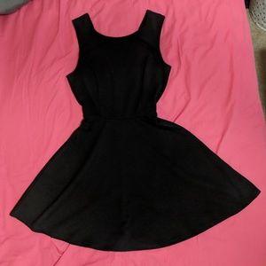 UO Little Black Flare Dress